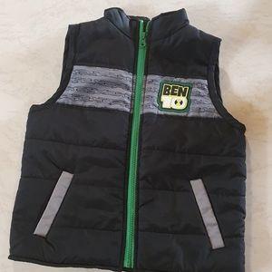 Ben 10 vest Size 5